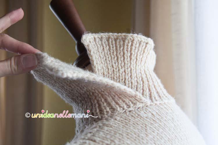 entrelac, tutorial, fai da te, lavori con la lana, lavoro ai ferri, maglia ai ferri, collo maglia