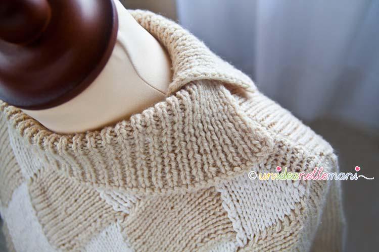 collo a maglia
