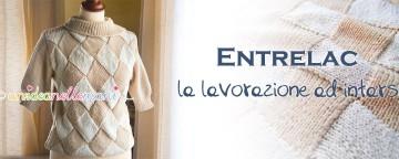 Lavori ai Ferri: la Maglia Entrelac