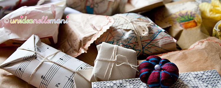 pacchetti regalo, regali fai da te, idee regalo natale