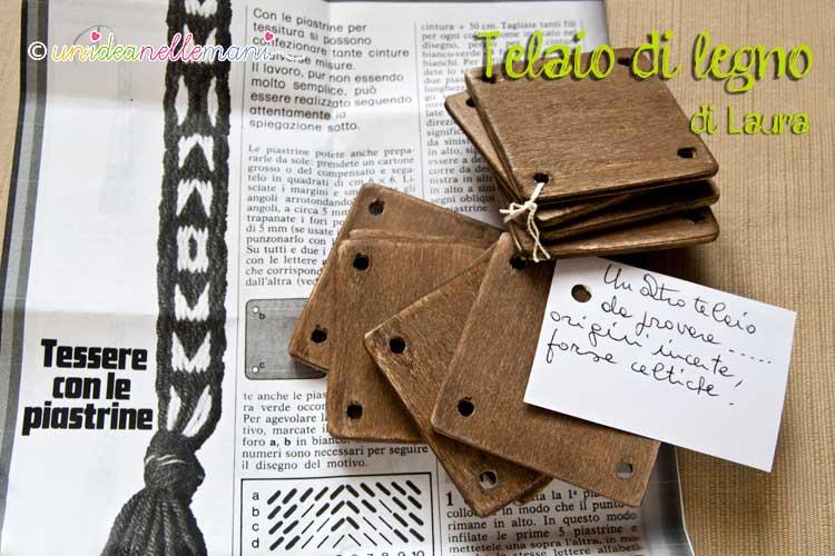 telaio, telaio in legno , telaio celtico, lavori di lana, regali fai da te
