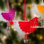 Decorazioni Fai Da Te in Feltro per l'Albero di Natale