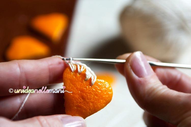 Famoso Decorazioni Natalizie con le Bucce di Arancia EF21