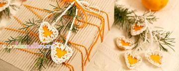 Decorazioni Natalizie con le Bucce di Arancia