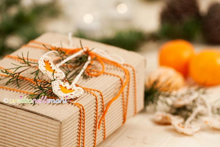 Decorazioni natalizie con le bucce di arancia - Decorazioni natalizie legno fai da te ...