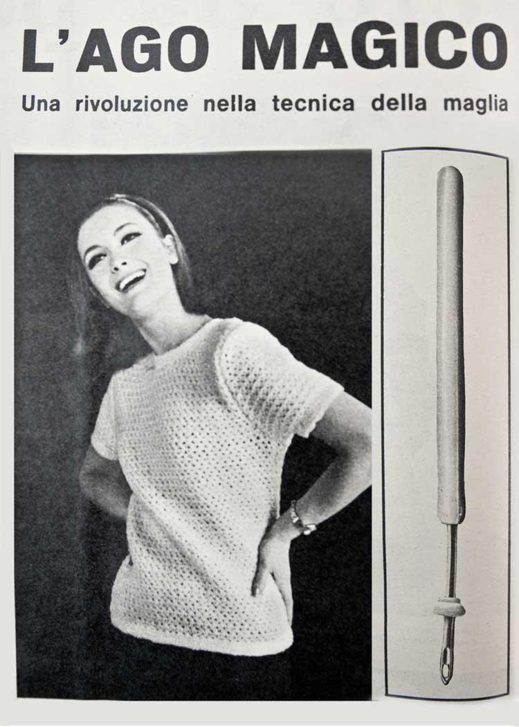 strumenti per fare la maglia l 39 ago magico