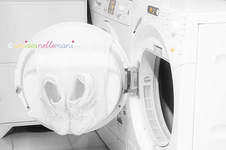 asciugatrice, asciugare scarpette nell'asciugatrice, aciugatrice uso, asciugatrice miele,