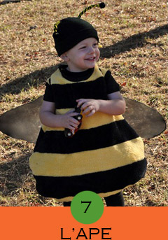 costume-da-ape, costume ape fai da te, costumi animali carnevale, costumi animali fai da te, costumi fai da te bambini,