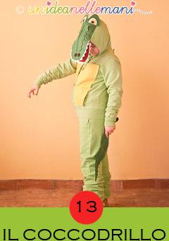 costume-da-coccodrillo, costumi animali carnevale, costumi animali fai da te, costumi fai da te bambini,