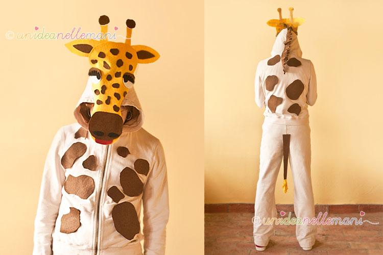 costume da giraffa, costume giraffa fai da te, modello costume giraffa, costume giraffa bambini,