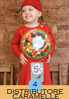 costume da distributore di caramelle