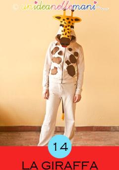 costume da giraffa