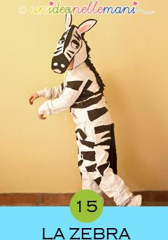 costume da zebra, costumi animali carnevale, costumi animali fai da te, costumi fai da te bambini,