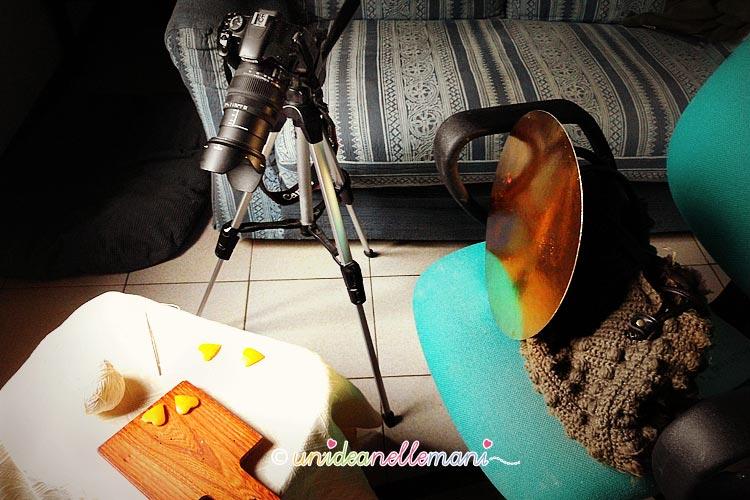 set fotografico, set fotografico fai da te, set fotografico fatto in casa, still life, pannelli riflettenti,