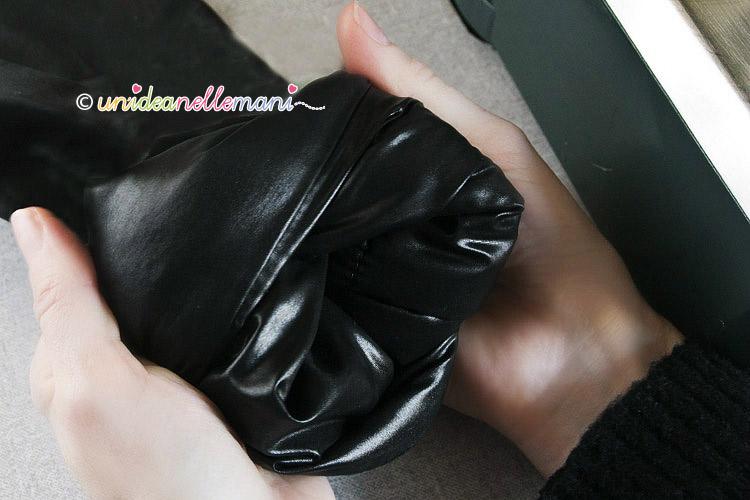 Accorciare maniche giacca pelle