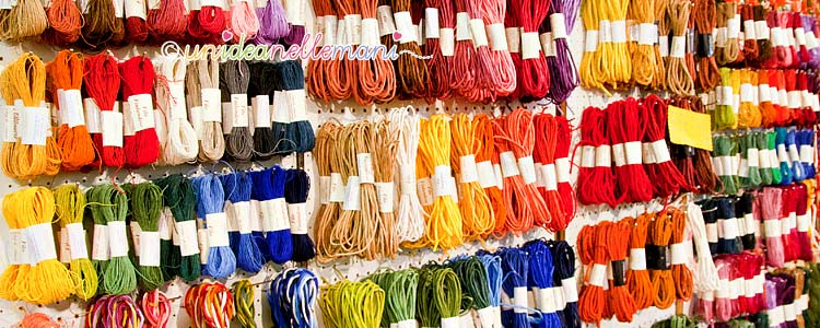 filati, filati alternativi, matasse colorate, filo di carta, filo finlandese,