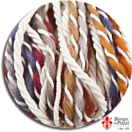 lana jaco, lana colorata, lana bianca, lana ritorta