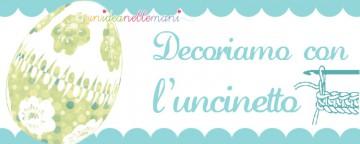 decorazioni pasqua uncinetto, uova polistirolo decorate, uova polistirolo rivestite uncinetto,