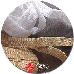 filato fettuccia in viscosa per maglia e uncinetto