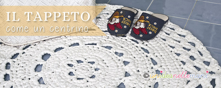 Tappeti Bagno Uncinetto : Come fare il tappeto ad uncinetto
