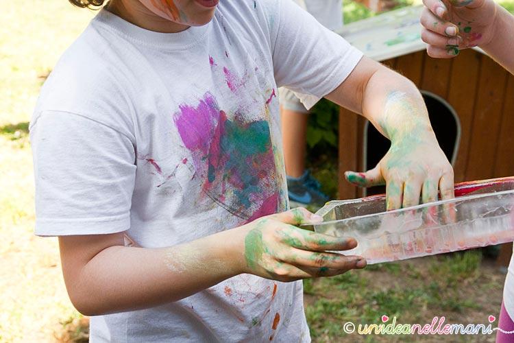 mischiare colori