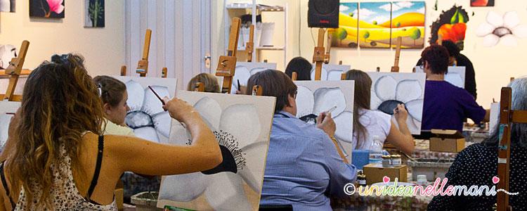 corso laboratorio di pittura