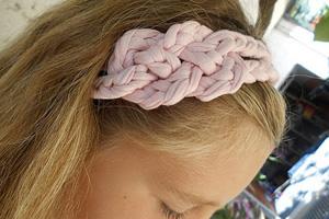fascia per capelli in fettuccia