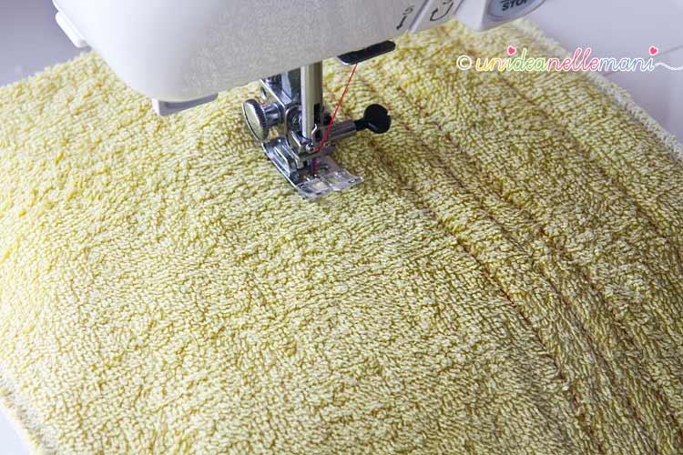 riciclo asciugamani