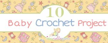 10 (+1) lavori ad uncinetto per bambini