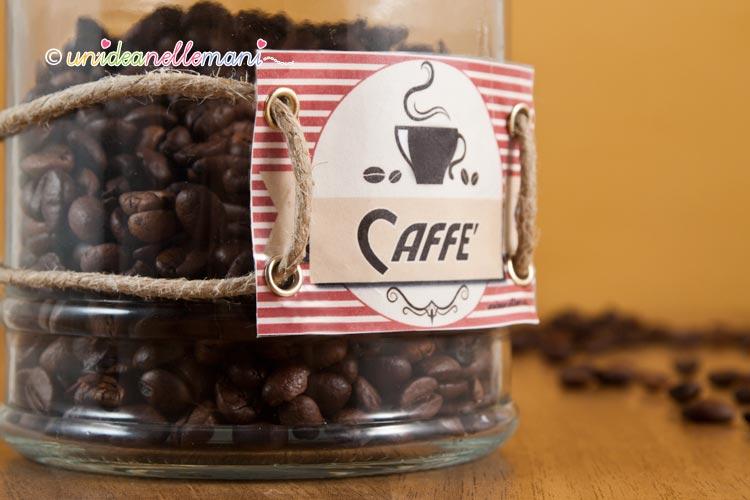 etichetta caffè fai da te