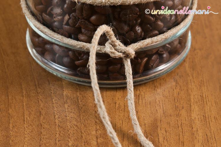 etichetta caffè legata