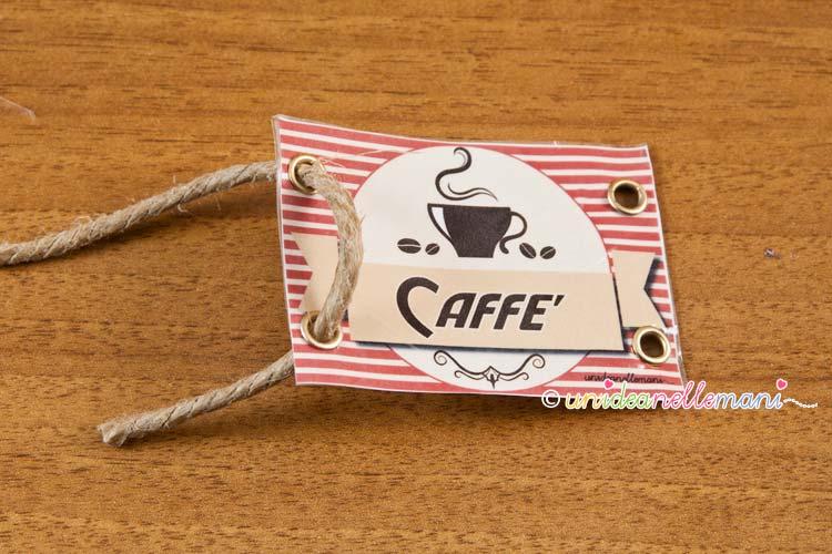 etichetta caffè