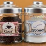 etichette sale zucchero caffe