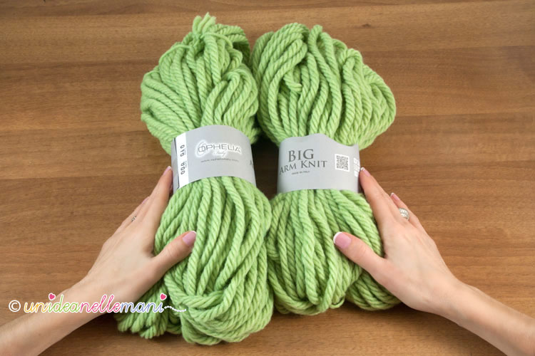 Filati per arm knitting