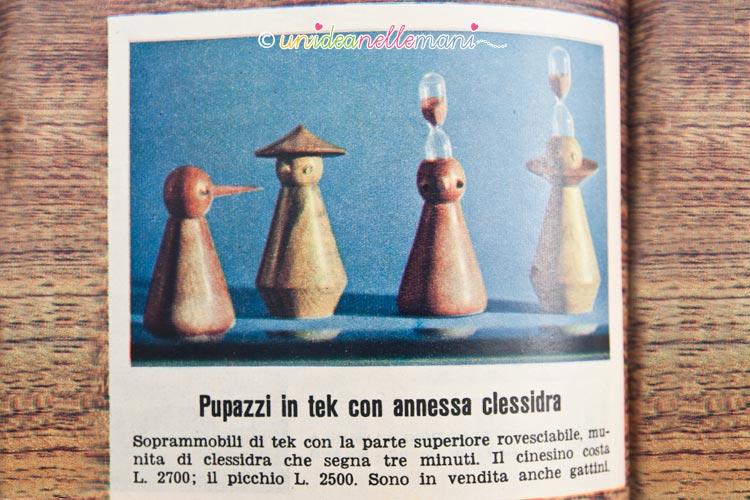 regali vintage clessidra