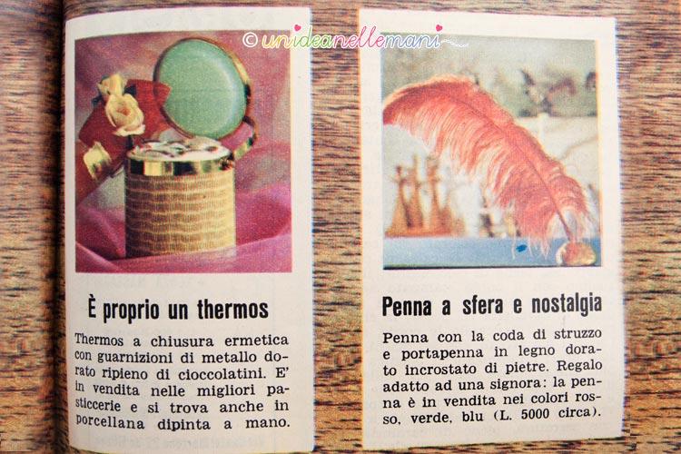regali vintage penna e thermos