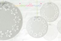 decorazioni natalizie fai da te, decorazioni natalizie riciclo plastica, addobbi di natale fai da te,