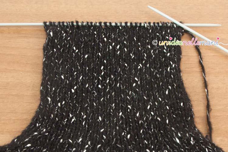 maglia rasata, scaldacollo a maglia,