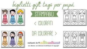 biglietti auguri festa del papa' da stampare, biglietti auguri festa del papa' da colorare