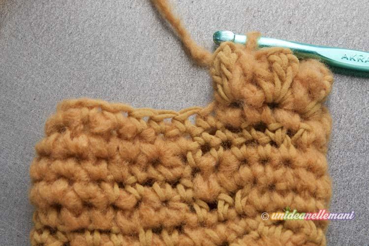 manicotti ad uncinetto, manicotti lana uncinetto, manicotti uncinetto tutorial, manicotti uncinetto schema, guanti senza dita,