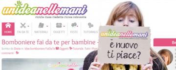 È on line il nuovo sito unideanellemani!