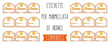etichette marmellata arance