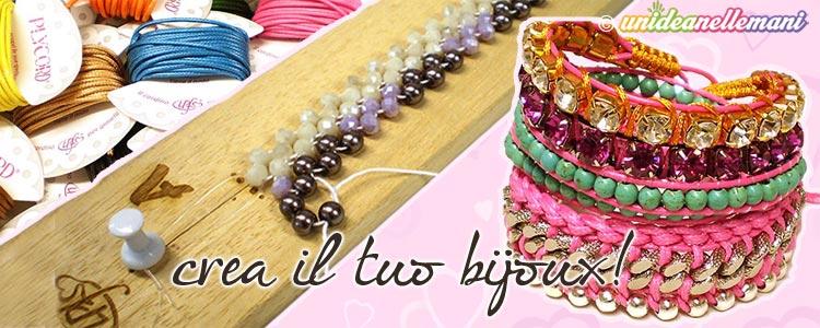 braccialetti con perline, braccialetti con i nodi,