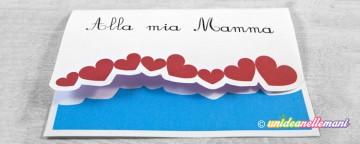 biglietto auguri festa della mamma, biglietto festa della mamma da stampare, biglietto con cuori