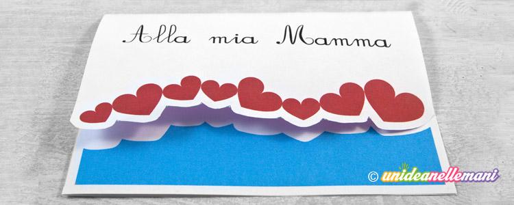 Famoso 4 Biglietti Festa della Mamma da stampare e ritagliare NR65