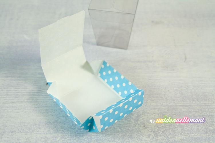 coperchio scatolina portaconfetti