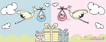 Regali da fare ai neonati: comprati o fatti a mano?