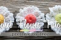 fiori uncinetto tutorial, fiori uncinetto da applicare, fiori uncinetto fai da te, fiori bianchi uncinetto, fiori bicolore uncinetto, fiori uncinetto grandi, fiori uncinetto facili,