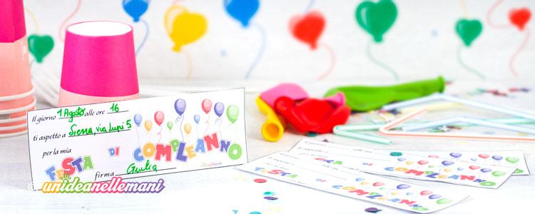biglietti invito compleanno bambini, biglietti invito compleanno bambini da stampare,