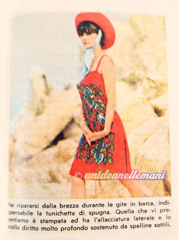 moda mare vintage, moda mare anni 60,